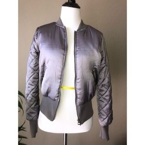Quilted H&M Bomber